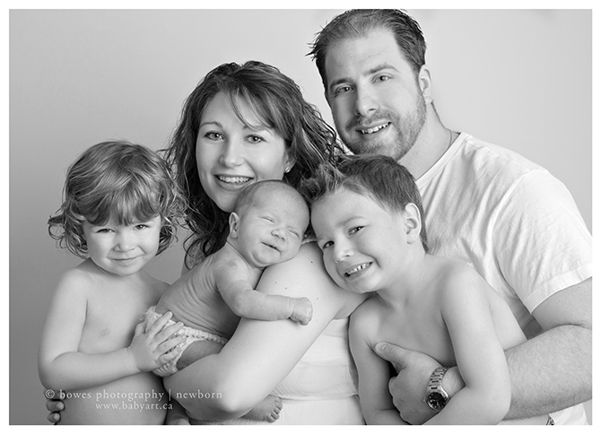 New Baby Family Portraits